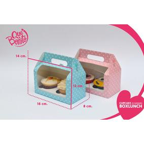 Cajas Cupcake Panques Kekos Muffins Lonchera Boxlunch 2 Cavs