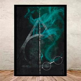 Poster Quadro Harry Potter Moldura E Vidro 45x35cm #9