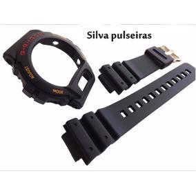 Capa + Pulseira Casio G-shock Dw-6600 Dw-6900 Série Ouro