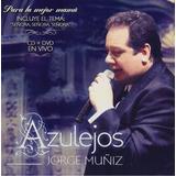 Azulejos - Jorge Muñiz - Disco Cd + Dvd - Nuevo 14 Canciones