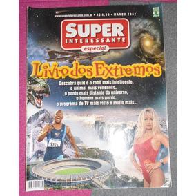 Revista Super Interessante Especial Livro Dos Extremos Usada