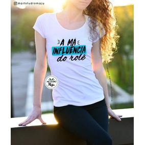 760c57c372 Camiseta Personalizada Carnaval - A Má Influência Do Rolê