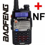 Radio Ht Dual Band(uhf+vhf) Baofeng Uv-5ra + Fone Pronta Ent