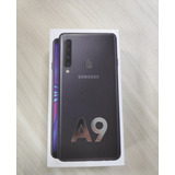 Samsung Galaxy A9 128gb Preto Lacrado Nota Fiscal Garantia