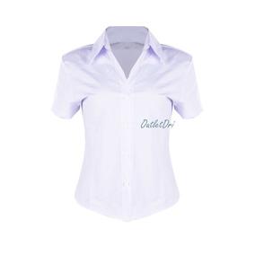 9eb0b8d25 Camisa Social Feminina Manga Curta - Camisa Social Feminino no ...