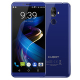 Smartphone Cubot X18 Plus 4gb Ram 64gb Rom Azul Enchufe De L
