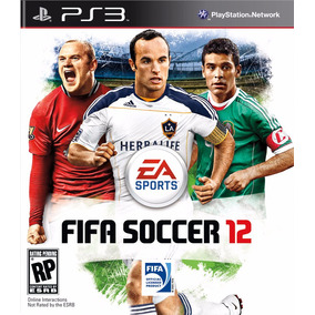 Jogo Fifa 2012 Ps3 Playstation 3 - Midia Fisica Original