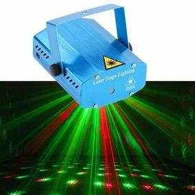 Mini Projetor Holográfico Com Efeitos Especiais Laser Stage