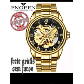 87b8ce424466b Relogio Automatico Esqueletos Prova Dagua - Relógios De Pulso no ...