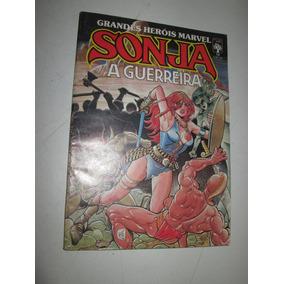 Grandes Heróis Marvel Nº 13 Sonja A Guerreira Editora Abril