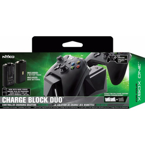 Base Carregadora C 2 Baterias Xbox One Charge Block Duo Nyko