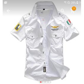 2934432f5ba85 Camisa Esquadra - Camisa Manga Curta Masculino em São Paulo no Mercado  Livre Brasil