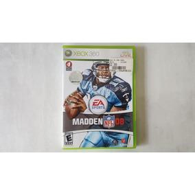 Madden Nfl 08 - Xbox 360 - Original - Mídia Física