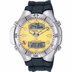 Relógio Citizen Promaster Jp1060 Amarelo Colecionador
