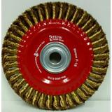 Cepillo Circular De Acero Trenzado 200 X 12mm Fecin e3c89eef343c