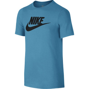 6b23ca4477 Camiseta Nike Futura Icon Infantil 739938-479 - G - Azul
