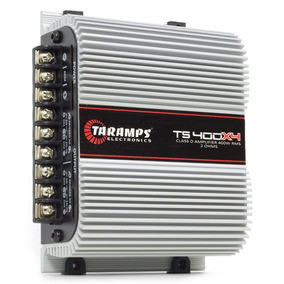 Módulo Taramps 400 W Rms Ts 400 X4 2 Ohms Amp. Som Auto.