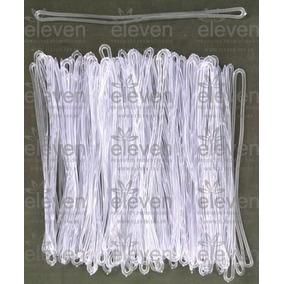 Cordão Transparente Alça Tag Bagagem Silicone (100 Unid)a
