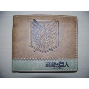 Cartera Attack On Titan Shingeki No Kyojin Ataque A Titanes