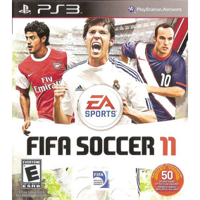 Jogo Fifa 11 Playstation 3 Ps3 Mídia Física Futebol Original