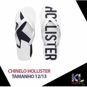 Chinelo Hollister - Chinelos no Mercado Livre Brasil 2b2c39060f3