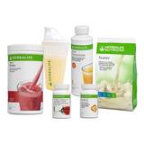 Kit Herbalife Shake+shakeira+chater50g+nrg60g+fiber C+nutrev