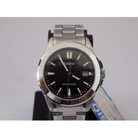 Reloj Casio Mtp 1215 Metal Cristal Mineral - Fecha