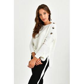 Buzo De Vestir En Lanilla Hombros Descubiertos Sweaters - Ropa y ... fa6ce22a73cc