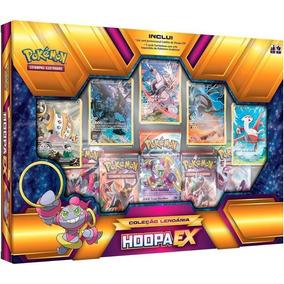 Pokemon Box Coleção Lendária Hoopa Ex Português