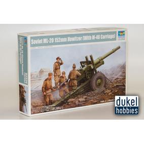 Trumpeter 1/35 Sov. Ml-20 152 How C/m46 (2324) Dukel Hobbies