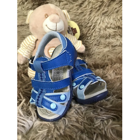 Sandalinha Infantil Baby Masculino Azul
