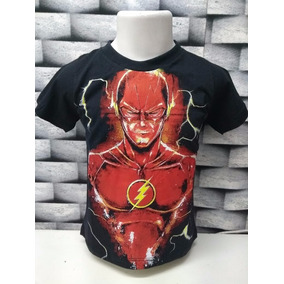 99252024b Camiseta The Flash Infantil - Camisetas Manga Curta no Mercado Livre ...