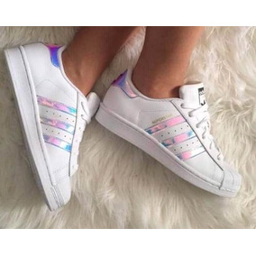 online store 04bd1 6e5f4 Zapatilla adidas Superstar Tornasoladas 100%originales