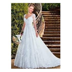 Vestido De Noiva Modelo Princesa Coleção Versalhes Lindo