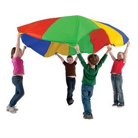 Paracaidas Gigante Niños Didactico Psicomotricidad 3,5 Mts