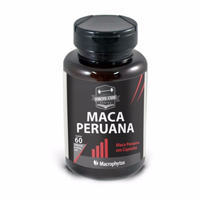Maca Peruana 500mg 60 Cápsulas - Macrophytus®