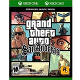 Gta Grand Theft Auto San Andreas Xbox One Nuevo Original