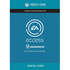 Chave Do Cd Do Ea Access 12 Months Xbox One