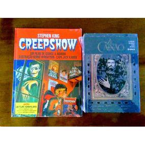 Livro Creepshow + Zé Do Caixão Biografia Ambos Em Capa Dura