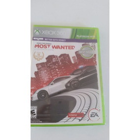 Jogo Xbox 360 Need For Speed Most Wanted - Original Lacrado
