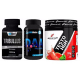 Mix Testosterona: Testo Hgh + Tribulus 1000mg + Daa 1000mg
