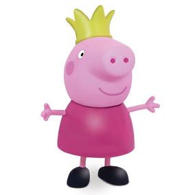 Boneco Princesa Peppa Pig Em Vinil De 15 Cm