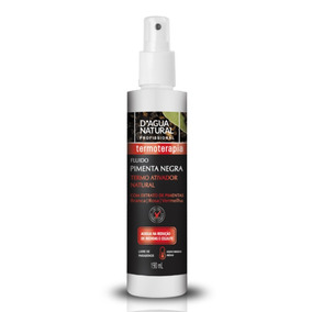 Dagua Natural Fluido Termo Ativador Pimenta Negra 190ml