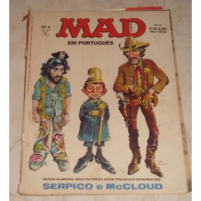 Revista Mad Nº 2 - Ed. Vecchi - 1974