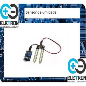 Sensor De Umidade Do Solo Com Cabos Para Arduino Pic