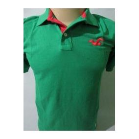 Camisas Polo Masculina - Hollister