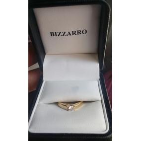 Bizzarro Anillo De Compromiso Oro 14 K Diamante 20 Pts