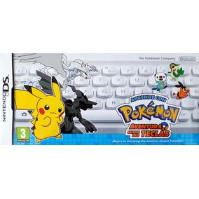 Teclado Pokémon Aventura Entre As Teclas Nintendo Ds Novo