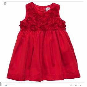 Vestido De Niña Bebe Hembra Carters Rojo 6 Meses