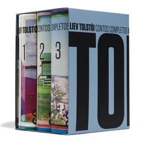 Box Contos Completos Liev Tolstói Cosac Naify 3 Volumes Raro